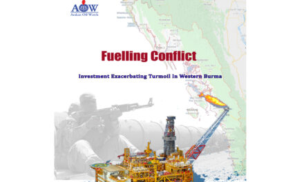 Fuelling Conflict (Investment Exacerbating Turmoil in Western Burma)