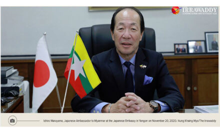 No Change in Our Commitment to Support Myanmar's Economic Development: Japanese Ambassador