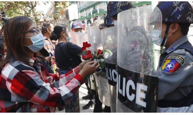 Myanmar Protesters Appeal To Foreign Companies