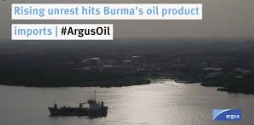 Rising unrest hits Burma's oil product imports