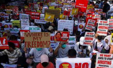 Oil companies under scrutiny in Myanmar as pro-democracy protests turn deadly