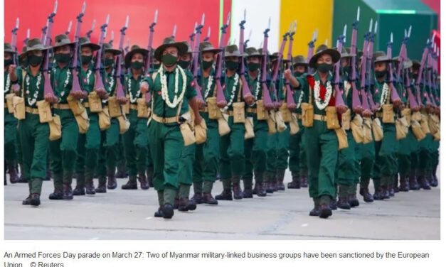 Myanmar coup latest: Junta claims two air bases attacked by rockets