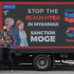 """""""Chevron under fire for supporting the Myanmar military"""" – rights groups SumOfUs and International Campaign for the Rohingya say"""