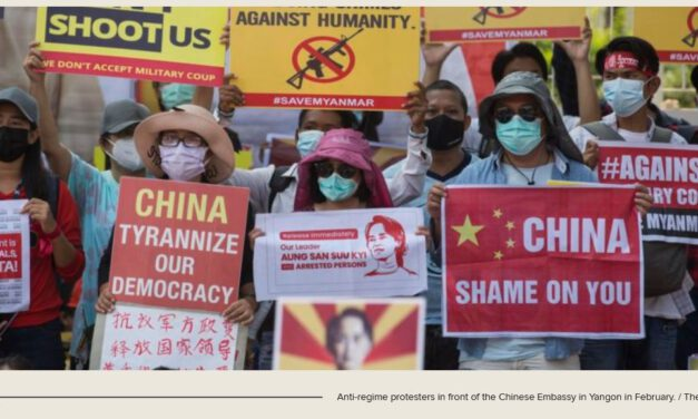 Myanmar Junta Implementing China's BRI Projects by Stealth